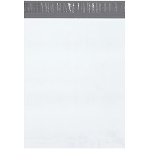 BOX USA BB87510PK Poly Mailer, 12'' x 15 1/2'', White (Pack of 18 Cases) by BOX USA