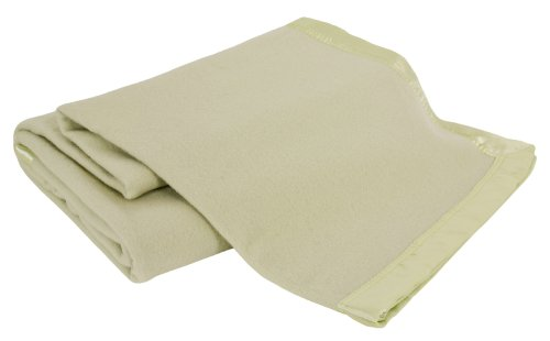 Creswick Luxurious All-Natural 100-Percent Australian Merino Wool Oversized Blanket, Twin, Sage Australia Blanket