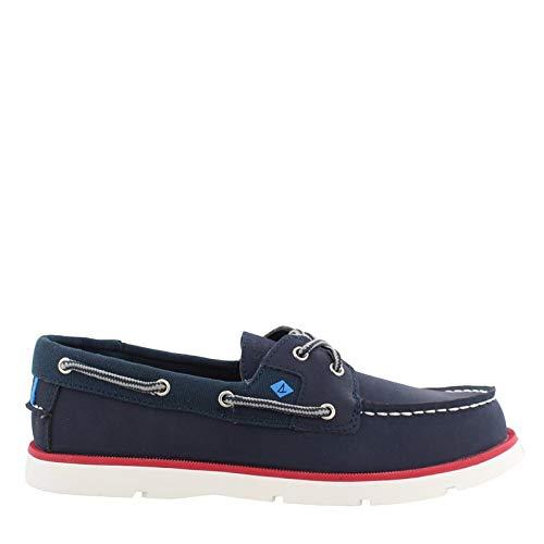 (SPERRY Boy's, Leeward Sport Boat Shoes Navy 2.5 M)