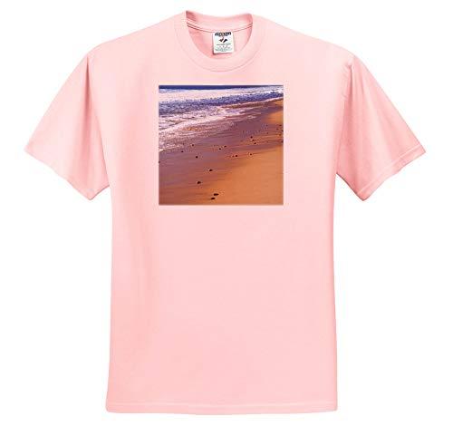 3dRose Danita Delimont - Beach - Nova Scotia, Beach Near The Cabot Trail, Cape Breton - Light Pink Infant Lap-Shoulder Tee (24M) (ts_313036_73) ()