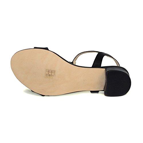 Sandalia de mujer - Maria Jaen modelo 4950X Negro