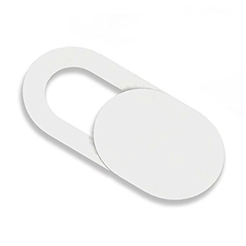 🥇 Cikuso 3pzs Pegatinas Escudo de Camara de plastico Proteccion de miradas Anti-Hacker para movil PC Tablet PC Ordenador portatil Cubierta de privacidad Blanco