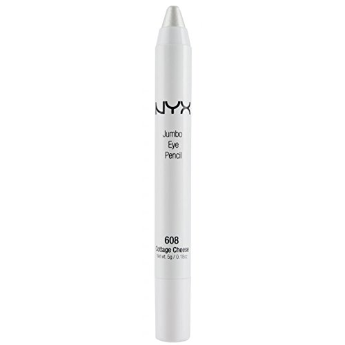 Lot of 2: New NYX Jumbo Eye Shadow Pencil Liner in 608 Cottage Cheese (Sealed)