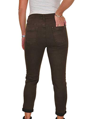 Sul Jeans Con Denim Marrone 54 Alta Ice 44 Risvolto Risvoltino In Vita 40tqWEwd