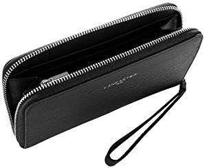 Lancaster Paris Womens 12133Pasteque Black Leather Wallet