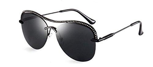 Lennon du style cercle retro de rond lunettes métallique Un polarisées inspirées soleil vintage en wpn8Hp1qFW