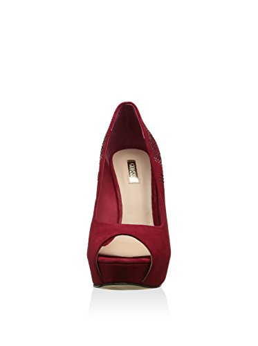 GUESS Zapatos Peep Toe Rojo EU 36