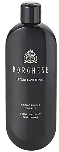 Borghese Hydro-Minerali Foundation Makeup (Beige) Creme Finish, Ideal for Medium – Normal, Dry Skin