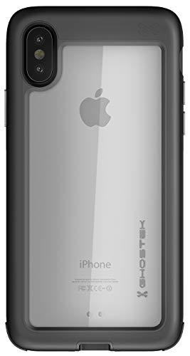 Ghostek Atomic Slim Rugged Heavy Duty Armor Case Designed for Apple iPhone X XS - Black