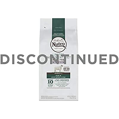 NUTRO Limited Ingredient Diet Natural Small Bites Adult Lamb & Sweet Potato Recipe Dog Food 4 Pounds