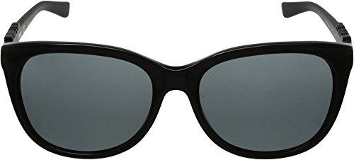 DKNY Women's 0DY4126 Square Sunglasses, Black, 57 mm