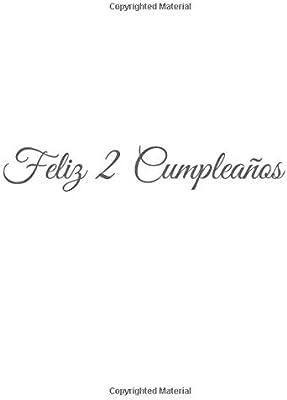 Feliz 2 cumpleaños: Libro De Visitas 2 Años Feliz Cumpleanos ...