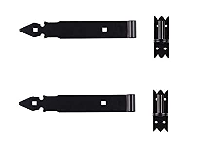 Ladenband Ladenbänder Türbänder Torband 400 x 45 x 4 mm mit 14 mm Kloben Schwarz