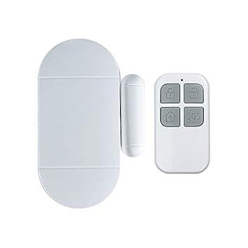 Cikuso Seguridad de Casa Sensor Magnético de La Ventana de La Puerta Sistema de Advertencia de Alarma Detector de Puerta Abierta Con Control Remoto ...