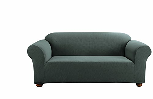 SureFit Simple Stretch Subway 1-Piece - Sofa Slipcover  - Gr