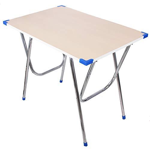 Ebee Big Size Engineer Wood Foldable Study Desk (Beige)