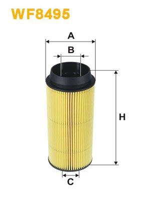 WIX FILTERS WIXFILTERS WF8495 Fuel Injectors: