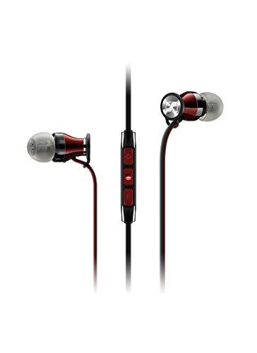 Sennheiser 506231 Momentum In-Ear Kopfhörer (für iPhone/iPod/iPad) schwarz/rot