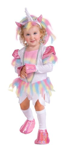 Rubie's Costume Deluxe Rainbow Unicorn Costume, Purple, Toddler