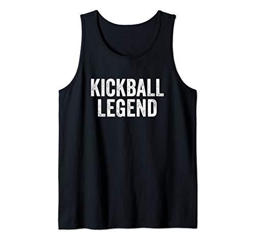Kickball Legend Funny Gift For the Best Kickball Player Ever Tank Top (Kickball Player)