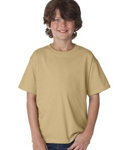 Fruit of the Loom Boys 5 oz.Heavy Cotton HD T-Shirt (3931B) -New Gold -L