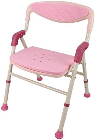 CZLSD Aluminiumstuhl Heimstabiler Sitz für ältere Menschen und behinderte Duschhocker, Badestuhl. (Color : Pink)