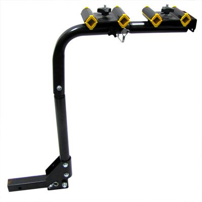 4-Bike Tow Hitch Rack Bicycle Rack Beach Cruiser Mountain Bike Rack by EZ Travel Collection