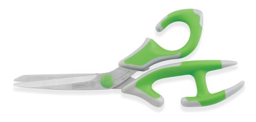 Mundial 2050G FreeStyle 5-1/2-Inch All-Purpose Scissors, Green (Cutter Freestyle)