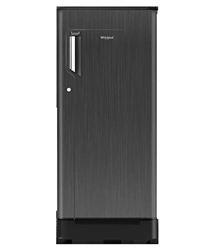 WHIRLPOOL Direct Cool 190L Single Door Refrigerator (205 ICE Magic POWERCOOL Roy 3S, Grey Titanium) Refrigerators at amazon