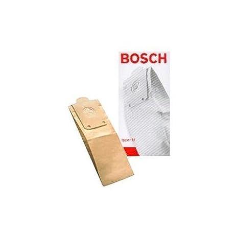 Amazon.com: Bosch bolsas de aspiradora tipo U (5 Pack ...