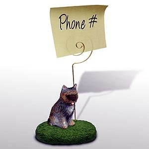 Cairn Terrier Note Holder ()
