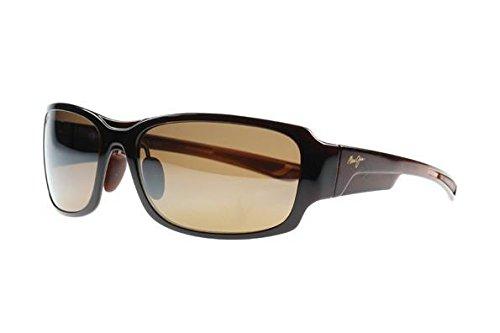 Maui Jim Sunglasses | Bamboo Forest 415 | Wrap Frame, Polarized Lenses, with Patented PolarizedPlus2 Lens ()