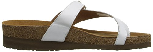 Sandal White Naot Women's Tahoe Sole Purple Toe Ring IwH4AZq