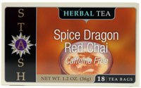 Stash Herbal Tea Caffeine Free Spice Dragon Red Chai -- 18 Tea ()