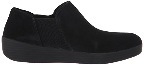 Superchelsea Slip On - Daim Noir