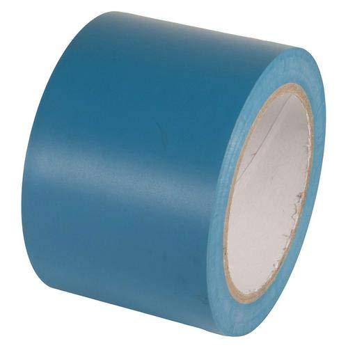 GHS Safety PST324, 3'' x 108' Light Blue Aisle Floor Tape, Pack of 25 Roll