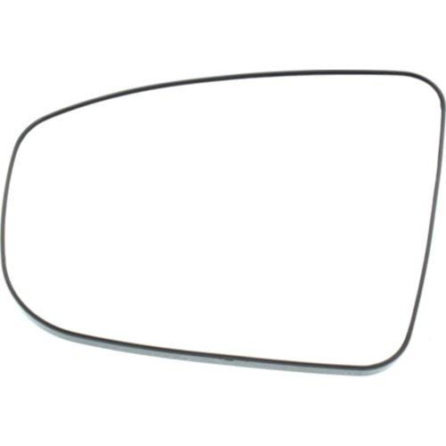 Kool Vue NS07GL Mirror Glass for Nissan Pathfinder 13-16 Left Side With Backing Plate