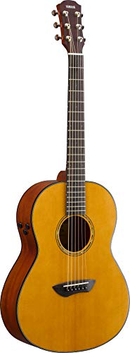 Yamaha CSF-TA Parlor Transacoustic Guitar with Chorus and Reverb - Gig Bag Included (Best Acoustic Guitar Amp 2019)
