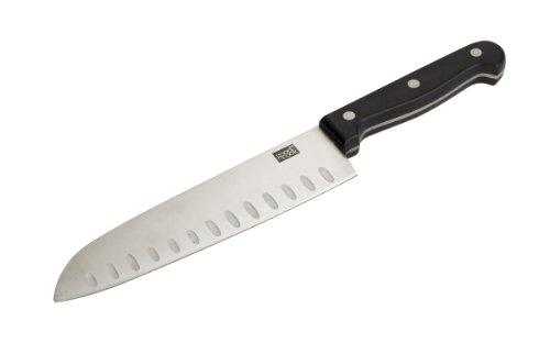Good Cook 7-Inch Fine Edge Santoku Knife - Handle Tang Bakelite Full