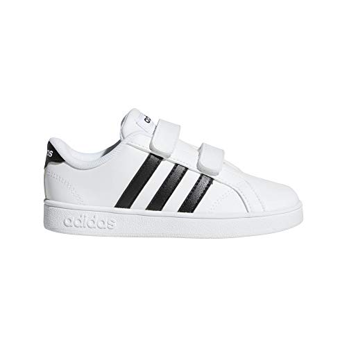 adidas Baseline CMF Infant Sneakers Shoes First Steps Bianco