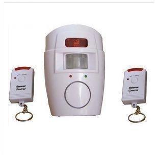 Alarma antirrobo con sensor sonido de sirena DB 2 mandos ...