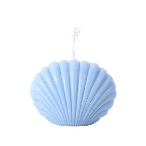 WWWL Creatieve kaars Shell kaars Soja Wax Geurkaars Home Decor Geur Shell Kaars Achtergrond Props Geometrische Party…