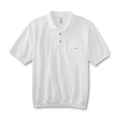 David Taylor Collection Men's Polo Shirt White Size Large
