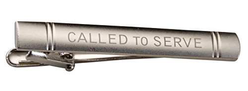 Cherished Moments LDS Missionary Called to Serve Tie Bar for Elders (Silver Tone)