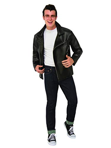 Grease Halloween Costumes Plus Size (Rubie's Costume Men's Grease, T-Birds Plus Jacket, As Shown, One)