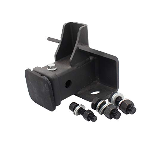 NewYall Black Tow Towing Trailer Hitch Receiver w/Screws
