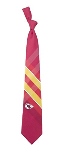 NFL Officially Licensed Woven 100% Polyester Grid Tie
