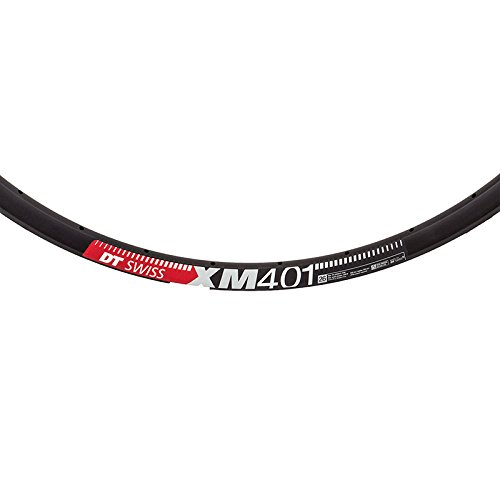 DT Swiss XM 401 26'' Tubeless Ready Rim 28h Black with Squorx Nipples and