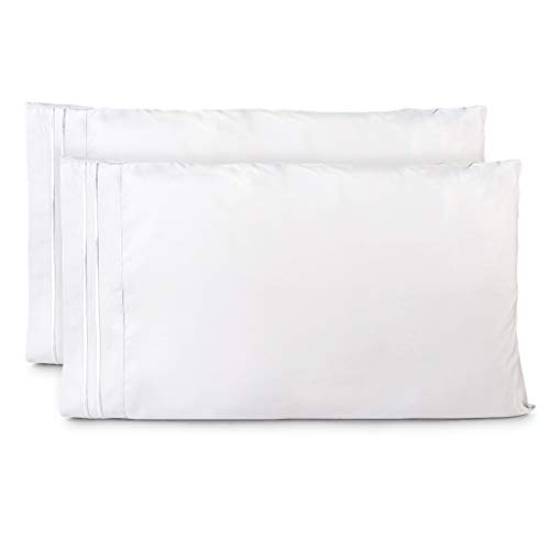 Cosy House Collection Pillowcase - 1500 Collection - Luxury Pillow Case Set of 2 - Premium Super Soft Hotel Quality Pillow Covers - Cool & Wrinkle Free - Hypoallergenic