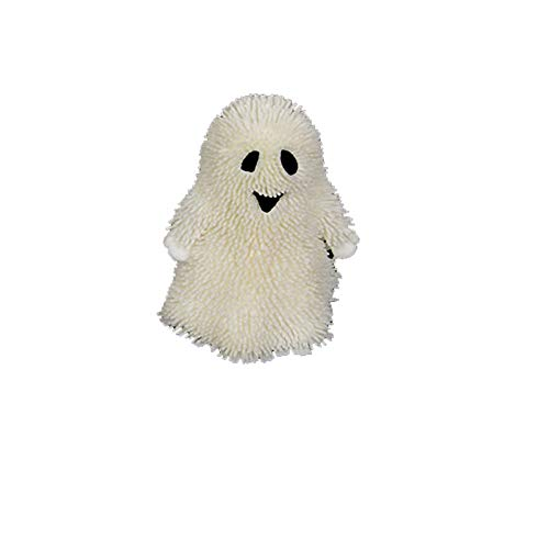 Liping 3.5in Light Up Halloween Pumpkin Stress Puffer Ball Cute and Interesting Squeeze Toy Slow Rising Cream Scented Stress Reliever Toy Gift Toys (A) -